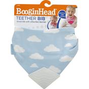 BooginHead Teether Bib, Clouds