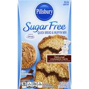 Pillsbury Quick Bread & Muffin Mix, Sugar Free, Deluxe, Cinnamon Swirl