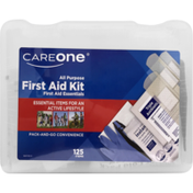 CareOne 125-Piece First Aid Kit