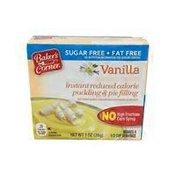 Baker's Corner Instant Sugar Free Vanilla Pudding Mix