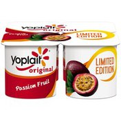 Yoplait Original Passion Fruit Limited Edition Low Fat Yogurt