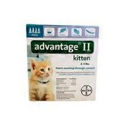 Advantage Once-a-Month Topical Flea Prevention for Kittens 2-5 Lbs.