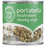 Food Club Chunky Style Portabella Mushrooms