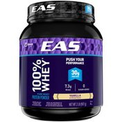 EAS 100% Pure Whey Vanilla EAS 100% Whey Protein Powder Vanilla Powder Canister