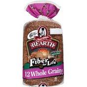 Aunt Millie's Hearth Fiber for Life 12 Whole Grains Bread