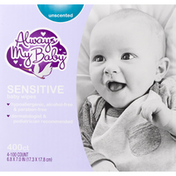Always My Baby Baby Wipes, Sensitive, Unscented