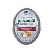Happy Farms Onion & Chive Soft Cream Cheese Spread