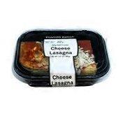 Standard Market Cheese Lasagna