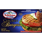 Bell & Evans All Natural Chicken Burgers