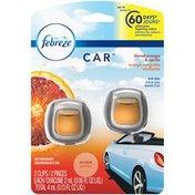 Febreze Air Freshener Vent Clip, Blood Orange & Spritz