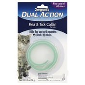 Sergeant's Flea & Tick Collar, Dual Action, for Cats