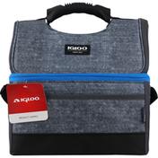 Igloo Cooler Bag, MaxCold Gripper 16, Gray/Black