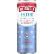 Smirnoff Seltzer, Red, White & Berry