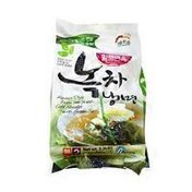Haioreum Korean Style Premium Fresh Cold Green Tea Noodles
