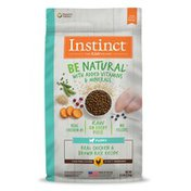 Instinct Be Natural Puppy Real Chicken & Brown Rice Recipe Dry Dog Food