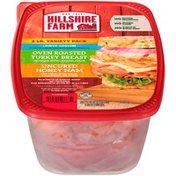 Hillshire Farm Ultra Thin Sliced Lunchmeat, Lower Sodium Oven Roasted Turkey Br