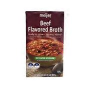 Meijer Beef Fat Free Reduced Sodium Broth