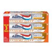 Aquafresh Extreme Clean Whitening Toothpaste, Extreme Clean Whitening Toothpaste