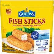 Gorton's Crunchy Breaded Fish Sticks