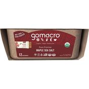 GoMacro Macrobars, Maple Sea Salt, 12 Pack