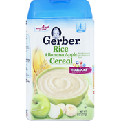 Gerber Cereal, Rice & Banana Apple