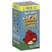 Natrol Vitamin Chews, Kid's, Angry Birds, Tablets, Mixed Berry