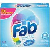 Fab Ultra Ocean Fresh Laundry Detergent Powder