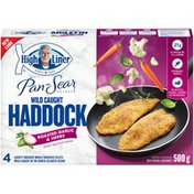 High Liner Pan-Sear Selects Roasted Garlic & Herbs Wild Caught Haddock
