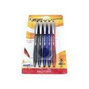 BiC Atlantis Original Medium Assorted Ink Ballpoint Pens