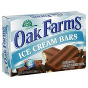 Oak Farms Ice Cream Bars, with Chocolate Flavored Coating