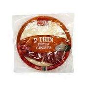 Mama Cozzi's Pizza Kitchen Thin Pizza Crusts W/Sauce   2pk