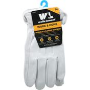Wells Lamont Gloves, Goatskin, Durable & Flexible, Medium