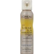 L'Oreal Sunscreen, Advanced, Crystal Clear Mist, SPF 50 +
