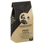 Cervantes Coffee Coffee, 100% Arabica, Whole Bean, Light, Peru Chirinos
