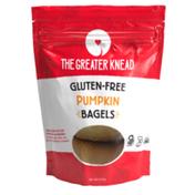 The Greater Knead Gluten Free Pumpkin Bagels