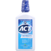 ACT Mouthwash, Anticavity Fluoride, Soothing Mint, Dry Mouth
