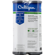 Culligan Water Filter Replacement Cartridge, Standard Duty, Universal Fit