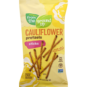 Real Food From The Ground Up Pretzels Sticks, Cauliflower