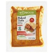 Wildwood Tofu, Organic, Sriracha, Baked
