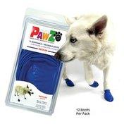 PawZ Disposable/Reusable Blue Dog Boots