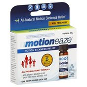 Motioneaze Motion Sickness Relief, Topical Oil