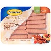 Butterball Everyday Breakfast Lean Turkey Sausage Links