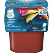 Gerber Carrot Pear & Blackberry Baby Food