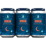 Athletic Brewing Co Beer, Extra Dark, All Out, Non-Alcoholic