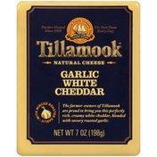 Tillamook Garlic White Cheddar Cheese