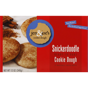 Jen & Joes Cookie Dough, Ready-to-Bake, Snickerdoodle