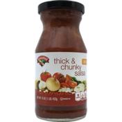 Hannaford Thick & Chunky Medium Salsa
