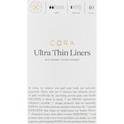 Cora Liners, Ultra Thin, Light, Regular