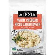 Alexia White Cheddar Riced Cauliflower