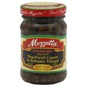 Mezzetta Capers, Non-Pareil, in Balsamic Vinegar